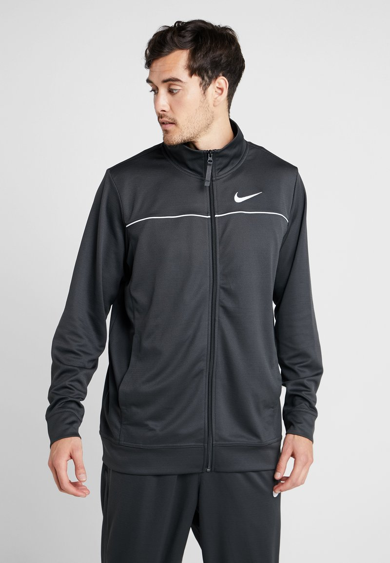Nike Performance - M NK RIVALRY TRACKSUIT - Träningsset - anthracite/white