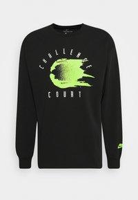 Nike Performance - TEE CHALLENGE - Long sleeved top - black - 4