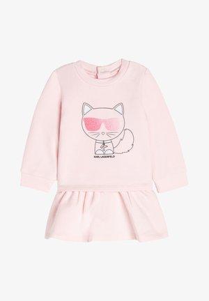 ROBE - Robe en jersey - baby pink