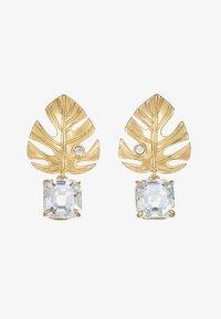 Swarovski - TROPICAL - Earrings - gold-coloured - 4