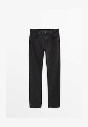 REGULAR-FIT  - Straight leg jeans - black