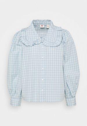 EMILIE BLOUSE - Button-down blouse - celestial blue