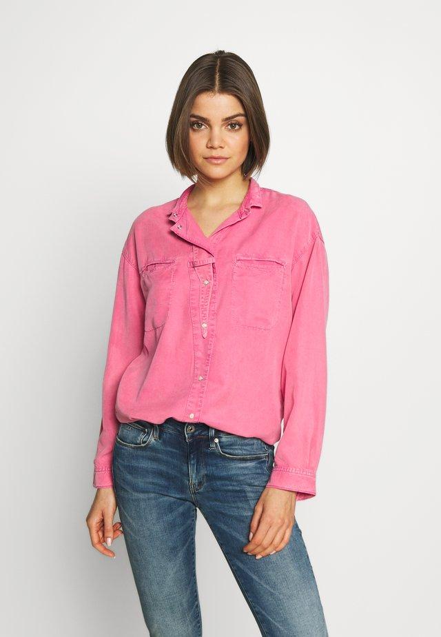 ACID - Button-down blouse - pink