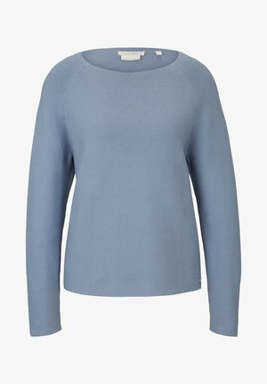 Sweter - soft mid blue