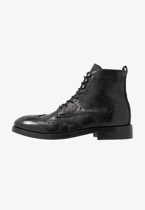 SHERWOOD - Lace-up ankle boots - black