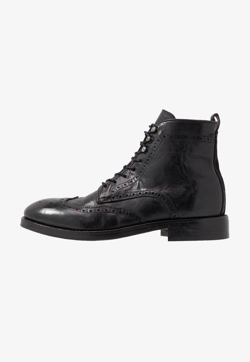 Hudson London - SHERWOOD - Lace-up ankle boots - black
