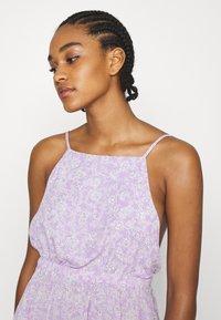 Cotton On - FRENCHIE OPEN BACK MINI - Day dress - sari powder lilac - 3