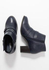 Wallis Wide Fit - WIDE FIT WREN - Ankle boot - navy - 3