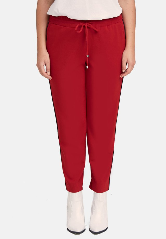 Tracksuit bottoms - rosso