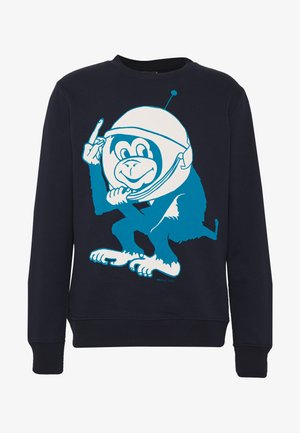 MENS SPACE MONKEY - Sweatshirt - navy