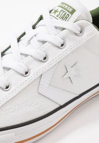 Converse - STAR PLAYER - Trainers - white/cypress green - 5