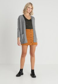 ONLY - ONLLESLY - Cardigan - medium grey melange - 1