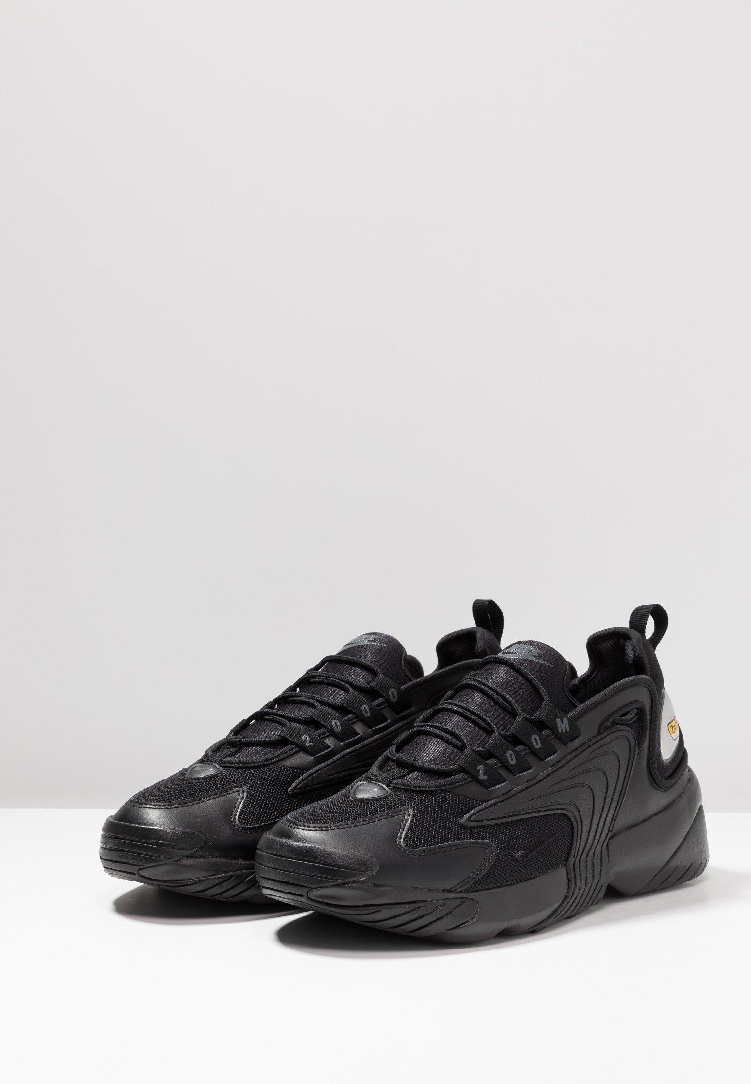 Nike Sportswear ZOOM  Sneaker low black/anthracite/schwarz