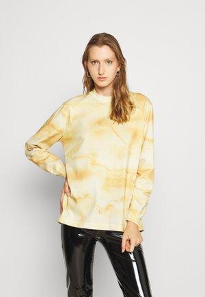LURING DYE - Long sleeved top - yellow