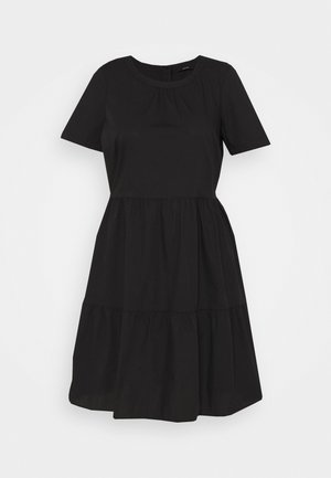 VMGULVA ABOVE KNEE DRESS - Day dress - black