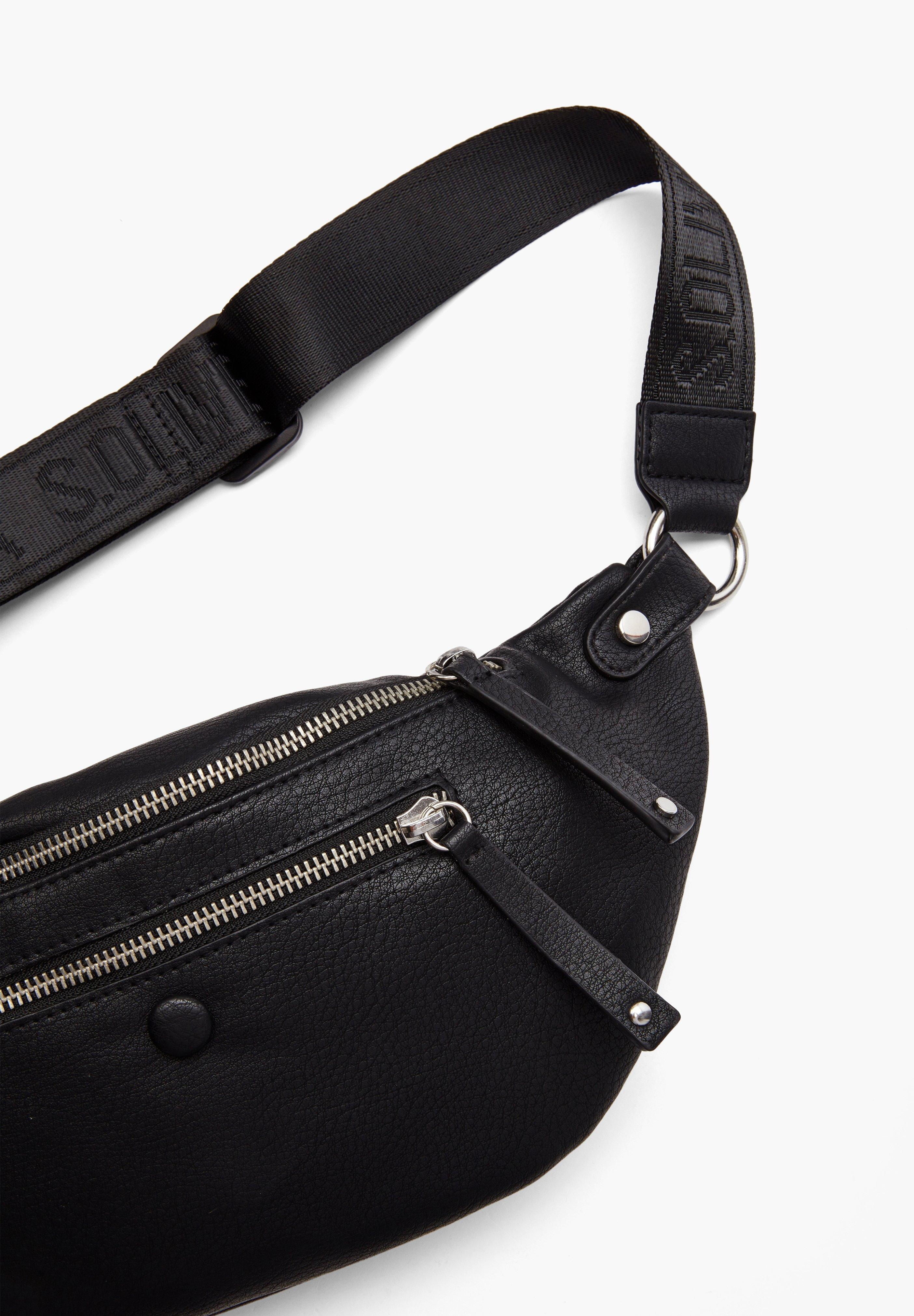 S.oliver Mit Zippern - Gürteltasche Black/schwarz