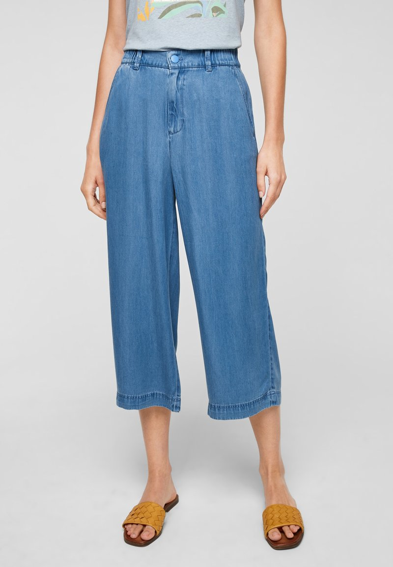 s.Oliver - LUCHTIGE - Straight leg jeans - blue lagoon