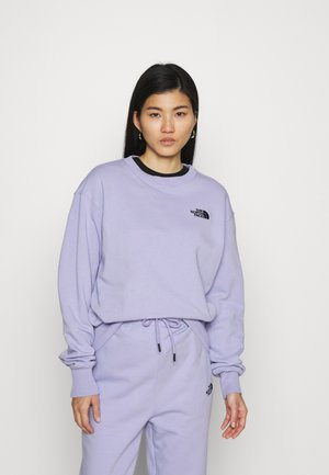 OVERSIZED ESSENTIAL CREW - Sweatshirt - sweet lavender