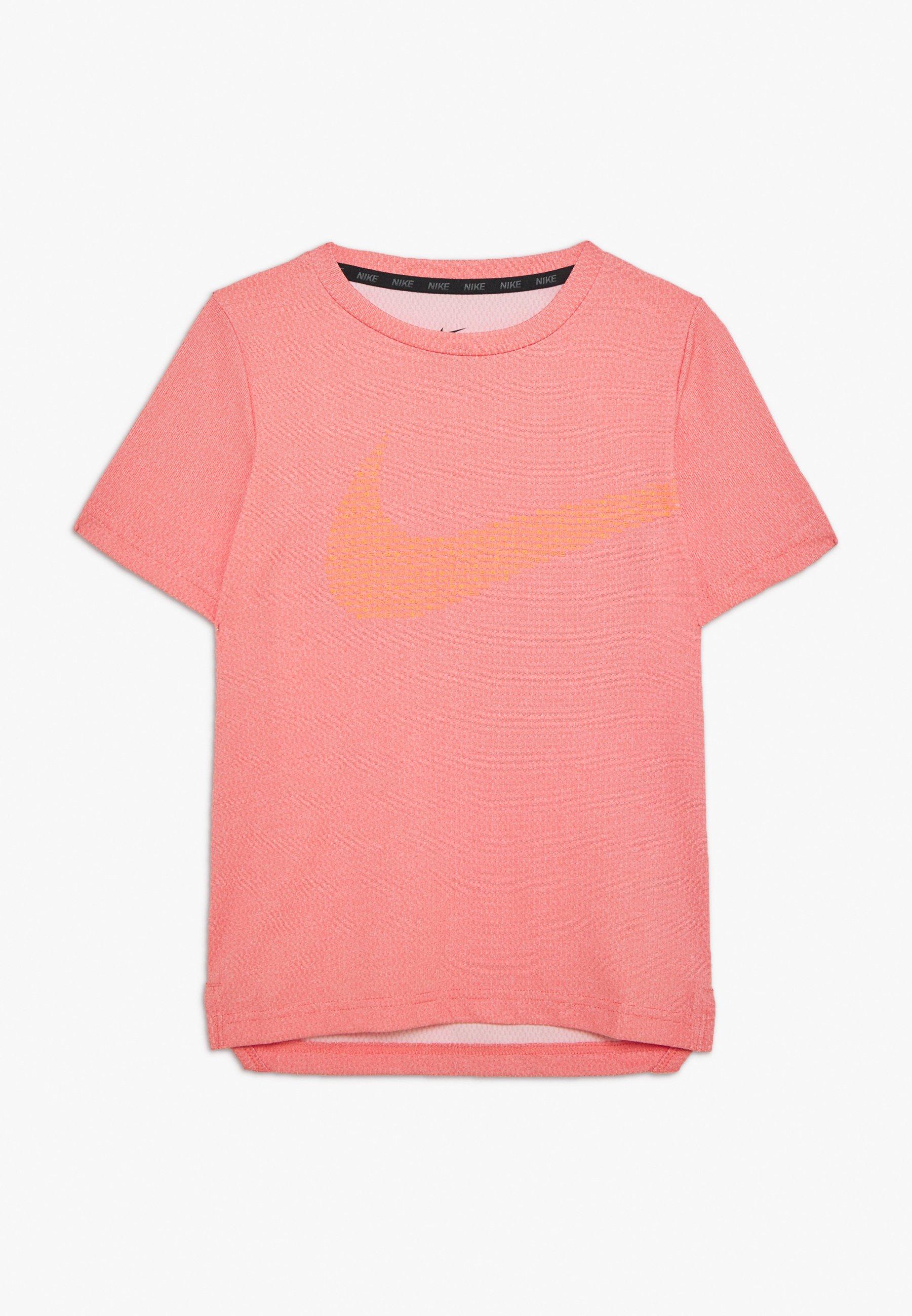 Nike Performance Statement - Print T-shirt Track Red/hyper Crimson