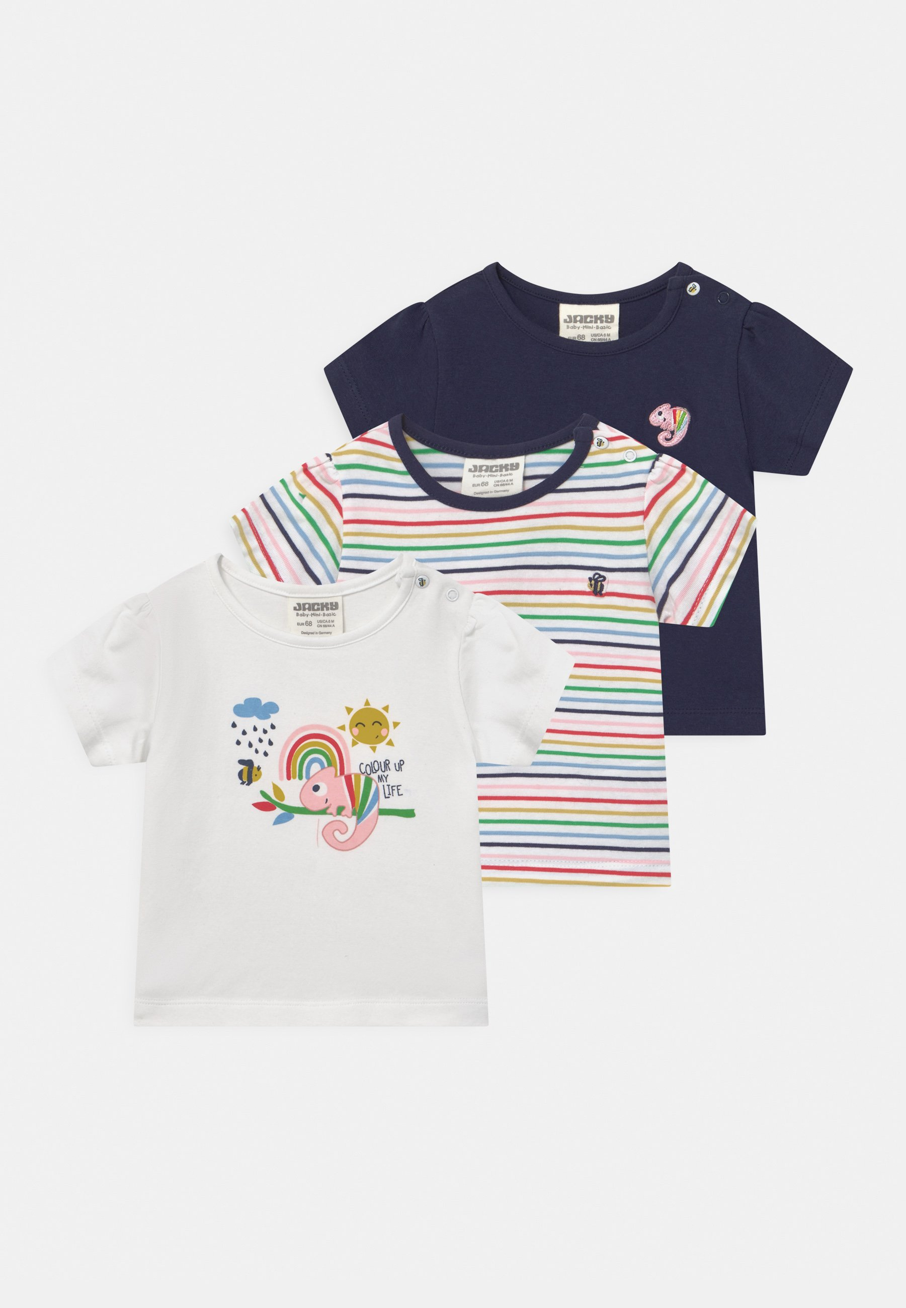 Kids COLOUR UP MY LIFE 3 PACK - Print T-shirt