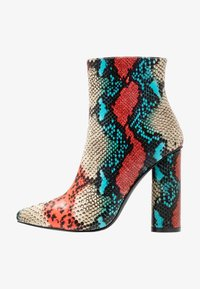 BEBO - SONIA - Classic ankle boots - red/multicolor - 1
