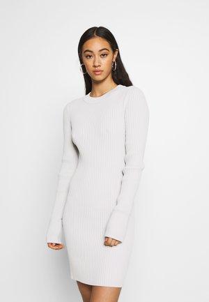 JEWEL DRESS - Shift dress - mole dusty light