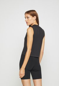 Calvin Klein Jeans - SLEEVELESS MOCK NECK - Top - ck black - 2