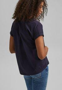 edc by Esprit - Print T-shirt - navy - 2