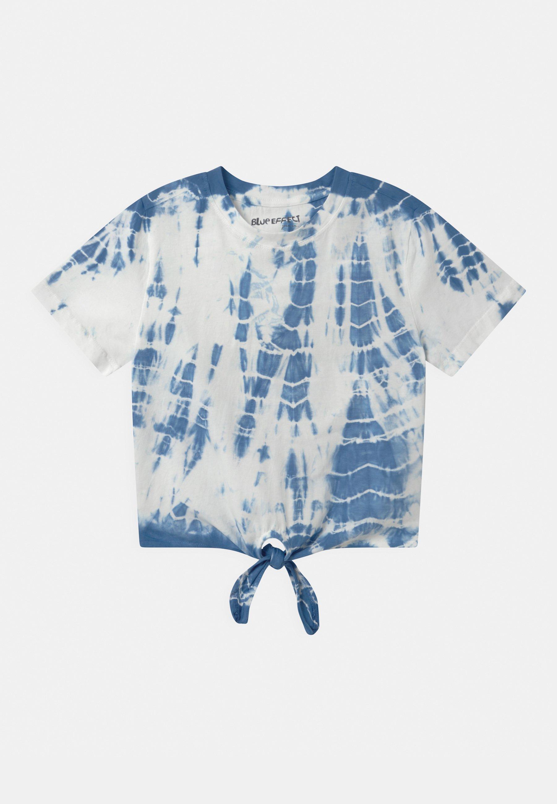 Kids GIRLS BOXY - Print T-shirt - himmelblau