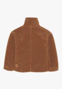 Didriksons - BERN GIRLS JACKET - Outdoor jacket - toffee brown - 1