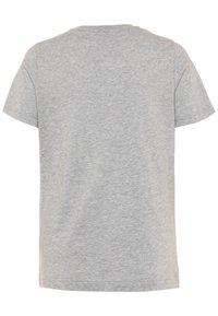 adidas Performance - UNISEX - Print T-shirt - mid grey heather/blue - 1