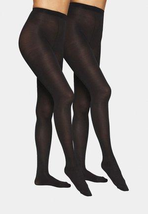 SILHOUETTE TOUCH 2 PACK - Panty - black