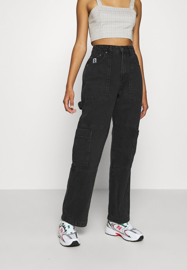 COMBAT - Jeans straight leg - charcoal