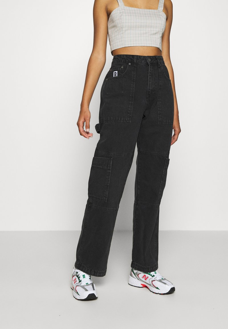 The Ragged Priest - COMBAT - Straight leg jeans - charcoal