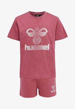 PROUD SET - T-shirts print - rose wine