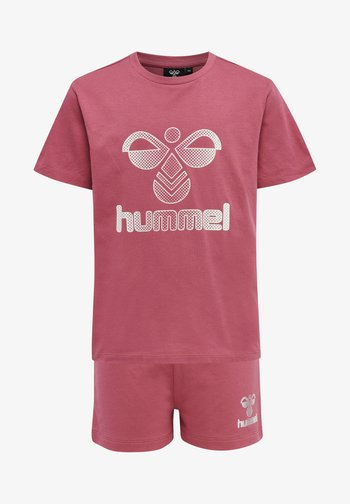 PROUD SET - T-shirt print - rose wine