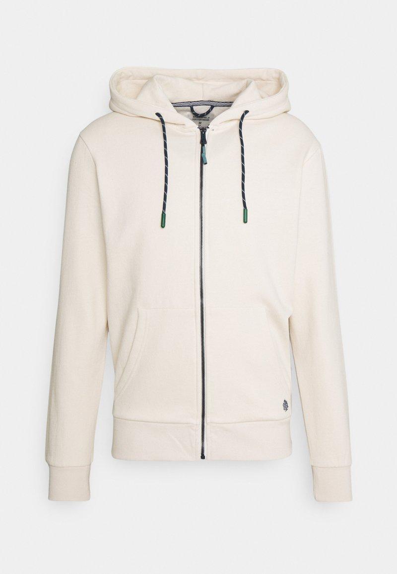 Springfield - BASICA ABIERTA - Zip-up hoodie - white