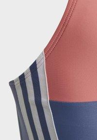 adidas Performance - MAILLOT DE BAIN COLORBLOCK 3-STRIPES - Swimsuit - blue - 5
