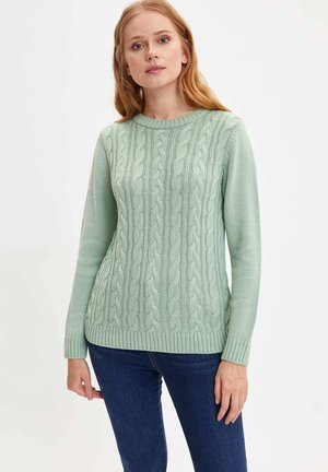 Pullover - turquoise