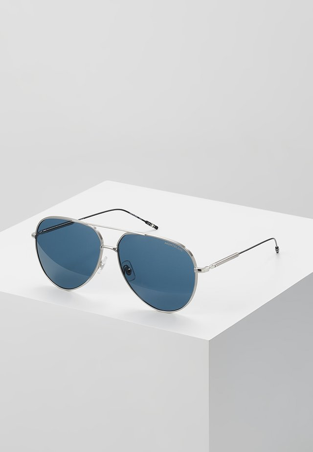 Sunglasses - silver-coloured/blue