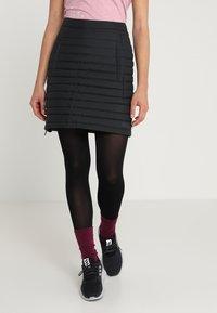 Jack Wolfskin - ICEGUARD SKIRT - Sports skirt - black - 0