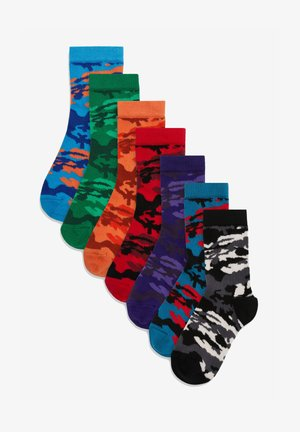 7PACK - Socks - orange