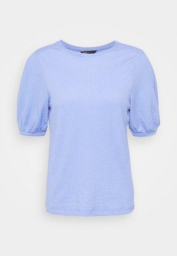 PUFF SLEEVE  - Basic T-shirt - blue