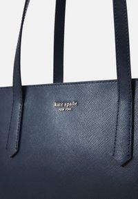 kate spade new york - LARGE ZIP TOP WORK TOTE - Tote bag - nightcap dark blue - 5
