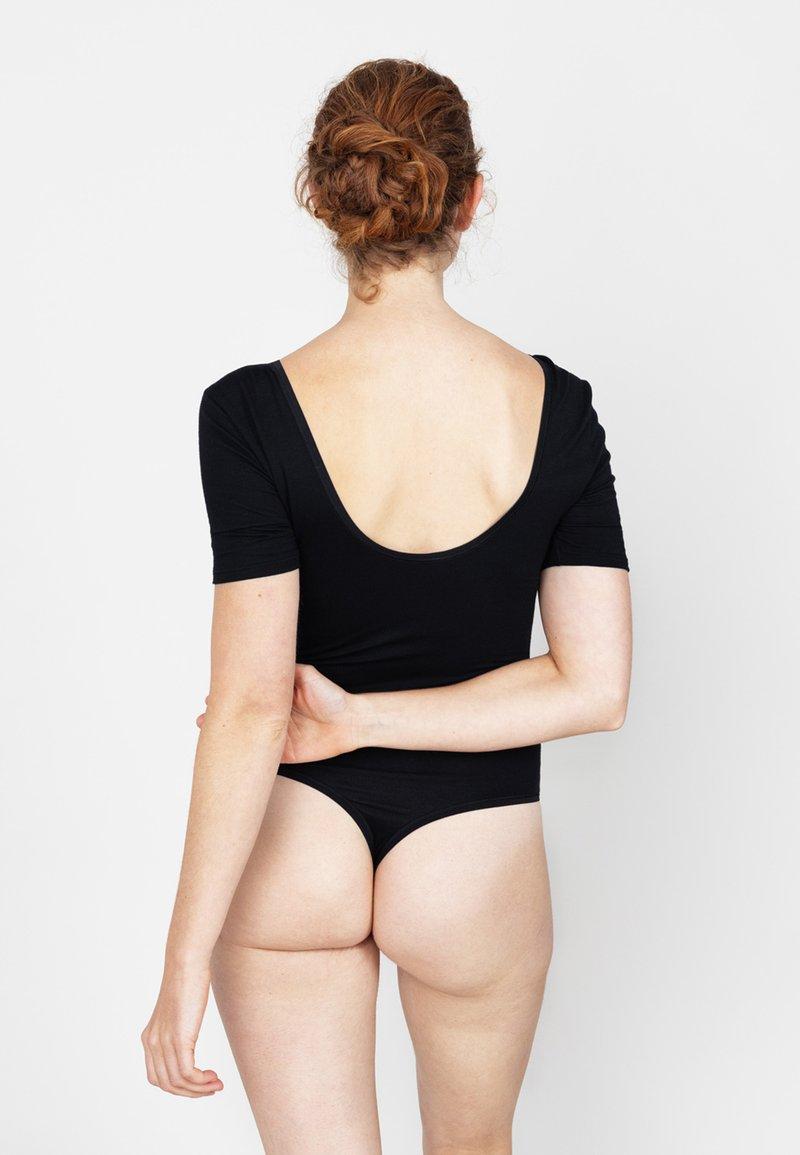 Erlich Textil - LAURA - Body - schwarz