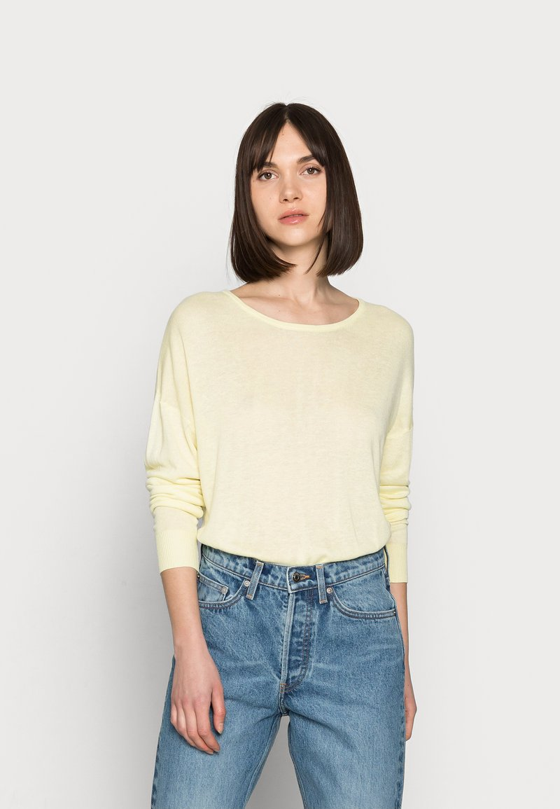Selected Femme - Jumper - young wheat
