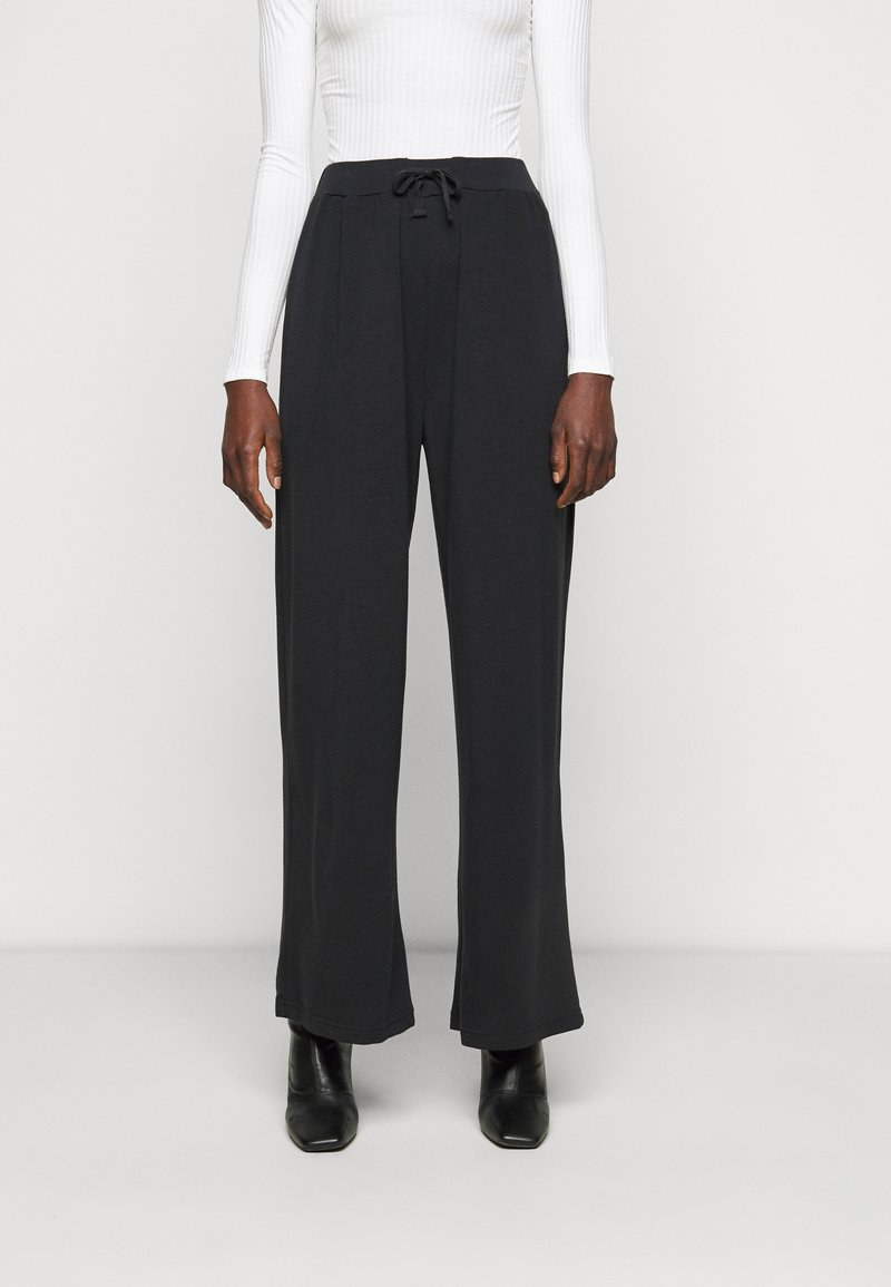 Anna Field Tall - WIDE LEG TROUSERS - Bukse - black