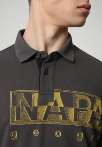 Napapijri - EALLAR - Polo shirt - dark grey solid - 2