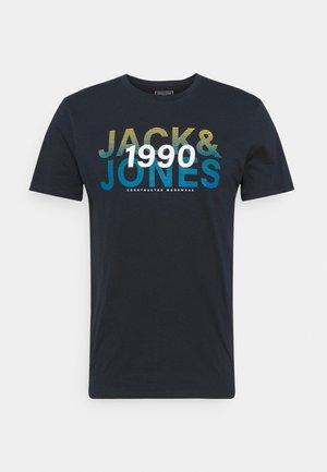 JCOFADE TEE CREW NECK - Print T-shirt - navy blazer