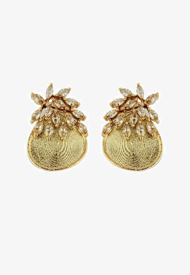 SALAMANDER - Boucles d'oreilles - beige
